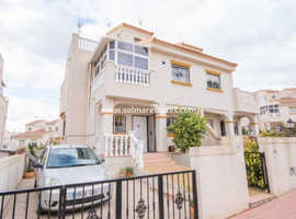 Costa Blanca Lovely Furnished 2 bed Quad House with Rooftop Solarium - Villamartin