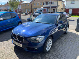BMW 1 series, 2013 (62) Blue Hatchback, Manual Diesel, 91,000 miles