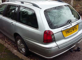 Rover 75, 2002 (02) Silver Estate, Manual Diesel, 166,319 miles