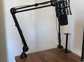 Rode NT-USB Microphone / Shock Mount / Boom Arm