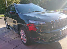 Jeep Cherokee, 2017 (17) Black Estate, Automatic Diesel, 20,000 miles