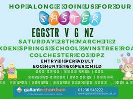 CANCELLED!! Easter Eggstravaganza Car Boot Sale, Easter Egg Hunt, Stalls CANCELLED!!