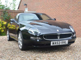 Maserati Coupe, 2003 (53) Black Coupe, Manual Petrol, 42,500 miles