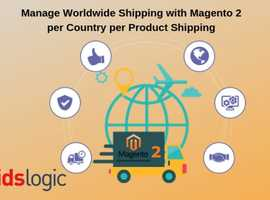 Manage Worldwide Shipping with Magento 2 per Country per Product Shipping
