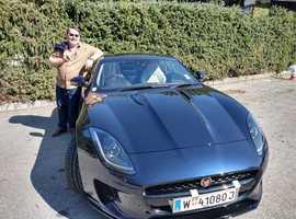 2020 Jaguar F-TYPE 2.0 , Blue Coupe, Automatic Petrol, 4000+ miles