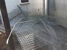 Free metal fencing
