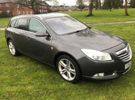 Vauxhall Insignia, 2010 (10) Grey Estate, Automatic Petrol, 105,000 miles