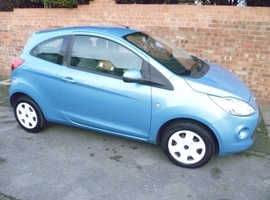 FORD KA, 2010 REG, LOW MILES, FULL HISTORY, NEW CAMBELT & £30 A YEAR TAX
