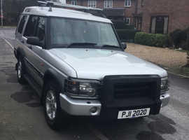 Land Rover Discovery, 2004 (04) Silver Estate, Manual Diesel, 91,197 miles