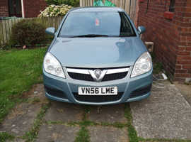 Vauxhall Vectra, 2007 (56) Grey Hatchback, Manual Diesel, 140,000 miles