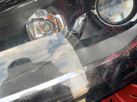 2014 Audi Tt Facelift Led Drl Xenon Headlights Damaged Repairable