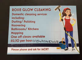 ROSIE GLOW CLEANING SERVICES