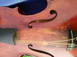antique JTL violin
