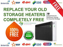 FREE Government Backed Electric Heating Grants for Landlords, Homeowners & Tenants