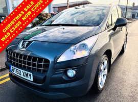 Peugeot 3008, 2011 (60) Grey Hatchback, Manual Diesel, 110,337 miles