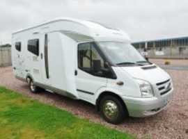Low mileage LHD Hobby Siesta limited edition motor home in excelent condition.