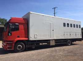 HORSEBOX: IVECO FORD 6 HORSE LORRY