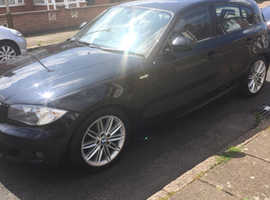 BMW 1 series, 2011 (11) Black Hatchback, Manual Diesel, 83,035 miles