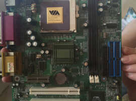 VINTAGE Epic  EP-3WTM Motherboard & CPU