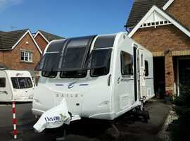 Bailey Rimini, 2017 Model *Ready to Go* This caravan comes with over £4000.00 worth of extras!!