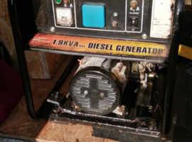 generator 1.9 kva deisel