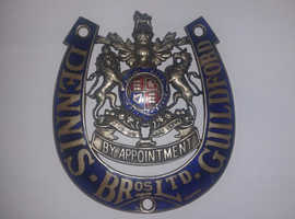 DENNIS BY APPOINTMENT BADGE