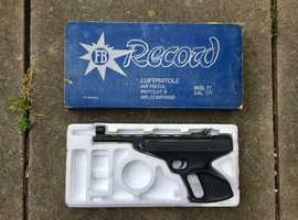 FB Record LP77 air pistol .177