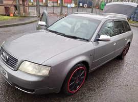 Audi A6, 2004 (53) Grey Estate, Manual Diesel, 190,000 miles