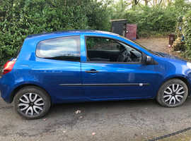 Renault Clio, 2010 (60) Blue Hatchback, Manual Diesel, 95,000 miles