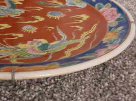 Old original large plate