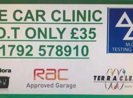 THE CAR CLINIC! MOT SERVICE AND REPAIRS