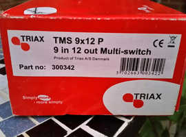 TRIAX TMS 9 X 12 P MULTI SWITCH