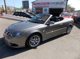 2009/09 Saab Vector Sport 1.8 T CABRIOLET in metallic grey 64,100 miles