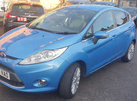 Ford Fiesta, 2010 (60) Blue Hatchback, Manual Petrol, 79,000 Miles