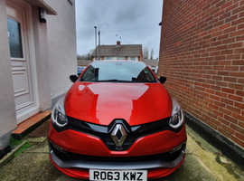 Renaultsport Clio, 2013 (63) Red Hatchback, Automatic Petrol, 29,000 miles