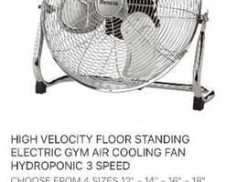 Brand new fan