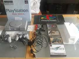 Original PS1, as new, boxed, unmarked