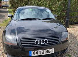 Audi TT QUATTRO (225 BHP), 2000 (X) Black Coupe, Manual Petrol, 144,170 miles