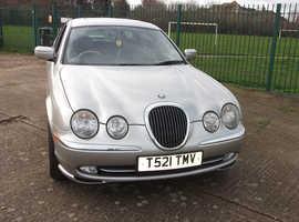 Jaguar S-TYPE, 1999 (T) Silver Saloon, Automatic Petrol, 69,662 miles