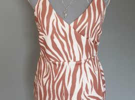 ASOS wrap dress size 10