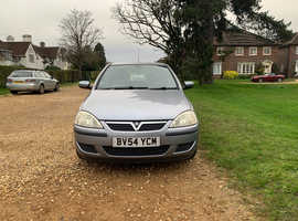 Vauxhall Corsa, 2004 (54) silver hatchback, Manual Petrol, 90,500 miles