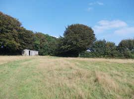 Large 2.5 acre paddock Lostwithiel Cornwall