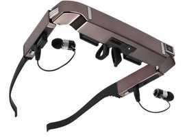 "Smart Retina VR Android Glasses Wifi 3D 80"" HD View 2GB Private Theatre USB +Accessories NEW"