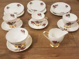 Gladstone bone china set.