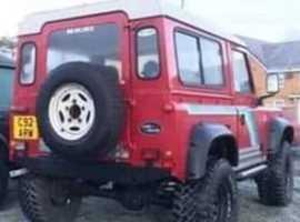 Land Rover LR 90 4C REG, 1986 (C) Red 4x4, Manual Diesel, 181,000 miles