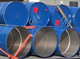 Oil drum, incinerator, pan barrels