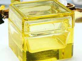 A European Citrine Glass Box