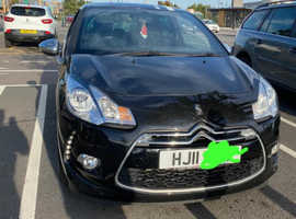 Citroen Ds3, 2011 (11) black hatchback, Manual Diesel, 119,000 miles