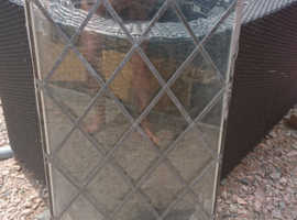 Large lead glass window used for our playhouse no longer needed
