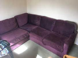 Nabru corner sofa bed
